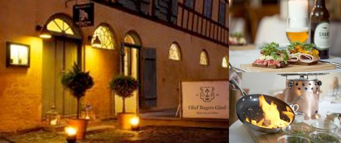Restaurant Oluf Bagers Gaard i Odense