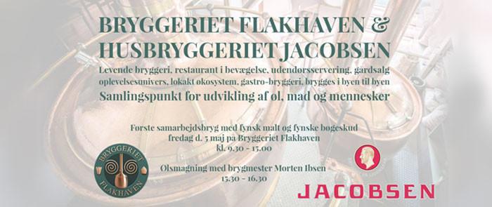 Carlsberg brygger øl med Flakhaven med smag fra fynske bøgetræer