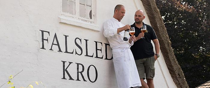 The Man Behind og Falsled Kro Gourmet