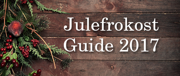 Julefrokost Guide 2017 Odense