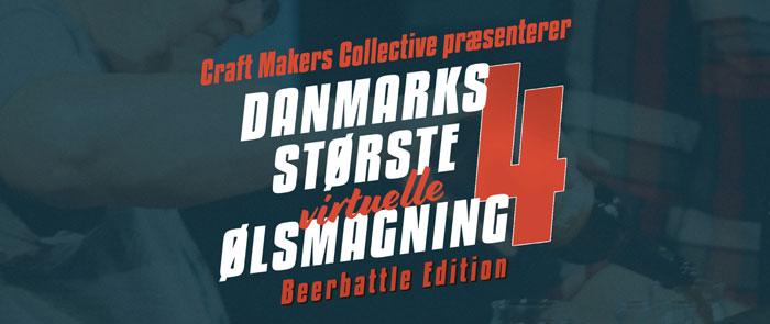 Danmarks største virtuelle ølsmagning